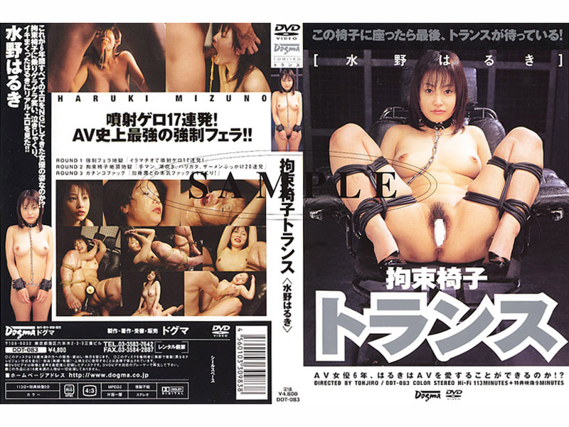 DDT-083 Haruki Mizuno Transformer Restraint Chair -  Dogma