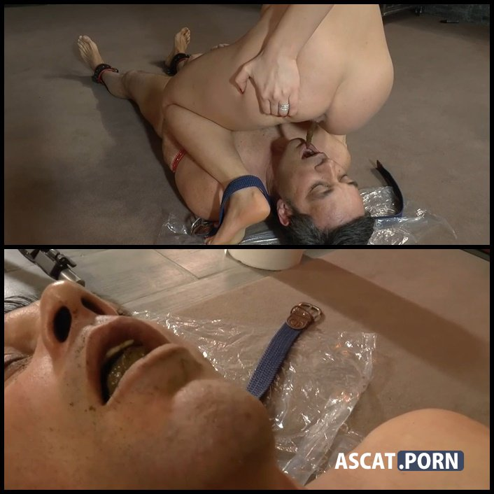 SCAT SUFFOCATION - MISTRESS GAIA - toilet slavery, scatting domination, Full HD 1080p (Release Year: January 14, 2017)