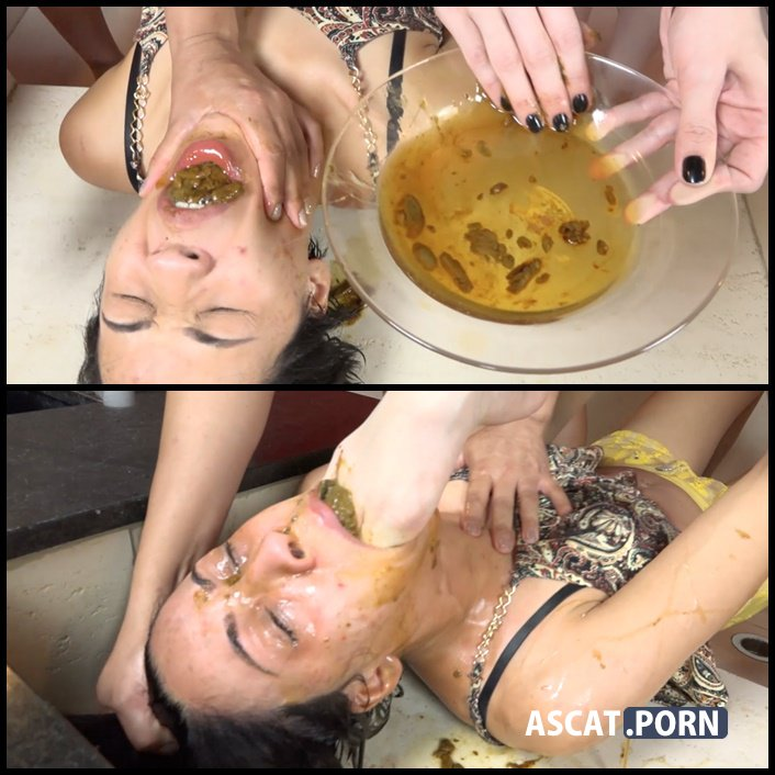 Extreme Double Scat Domination Dinner - The Scat Soup Real Swallow, Full HD 1080p (Release Year: January 26, 2017)