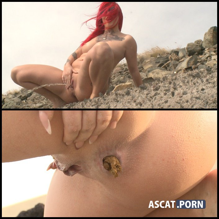 Solo Scat Girl Stonmy - The Extreme Bitch - girl pooping outdoors, shitty ass, Full HD 1080p (Release Year: February 01, 2017)