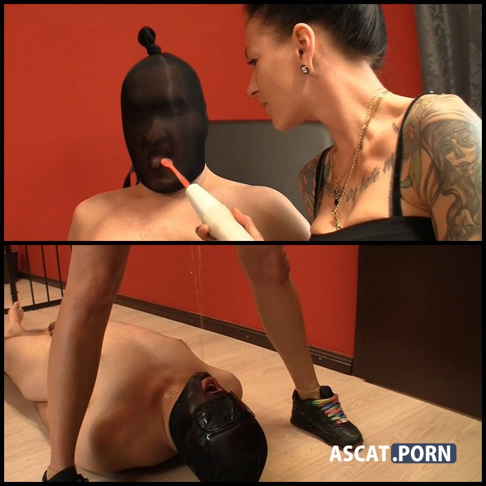Nasty ball and pee torture - scat-movie-world - scat and piss femdom, Full HD 1080p (Release Date: February 17, 2017)