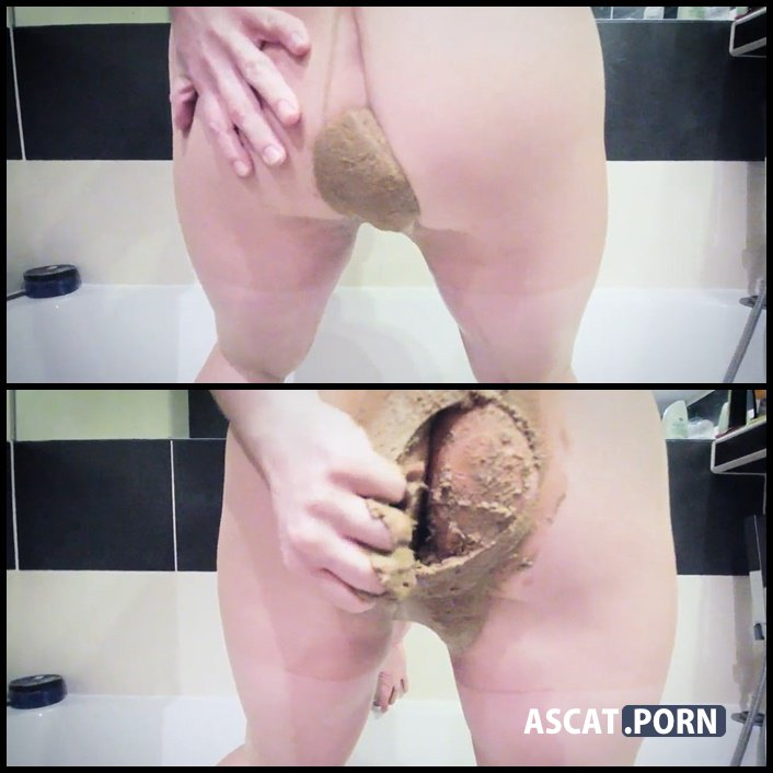 Shit to pants first time - AliseaScat - nylon poop, shitting porn, Full HD 1080p (Release Date: February 19, 2017)