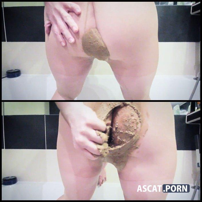 Porn poop pants Girls pooping