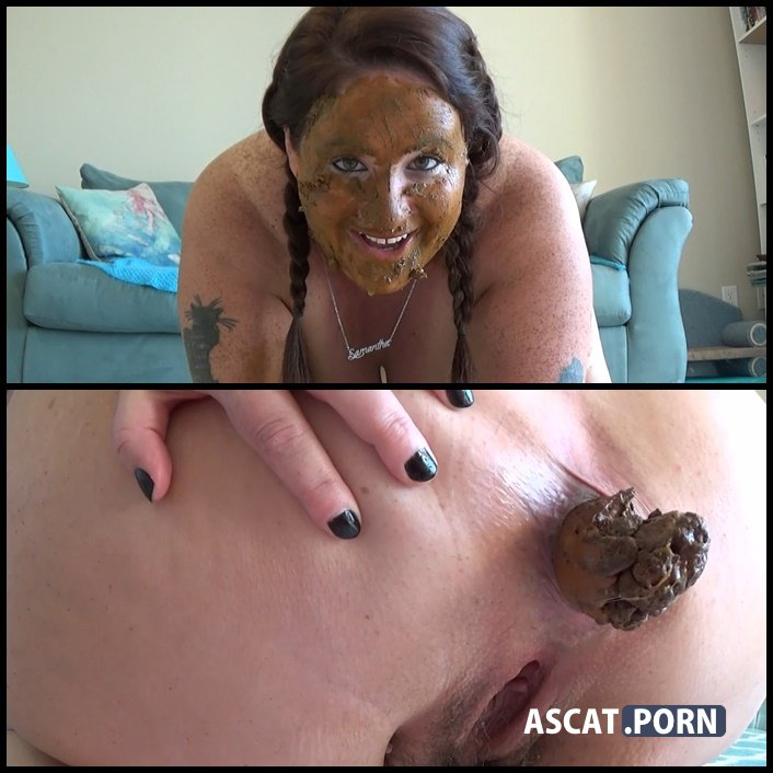 Samantha Starfish Update - kaviar scat, scat swallow, poop smear, Full HD 1080p (Release Date: March, 2017)