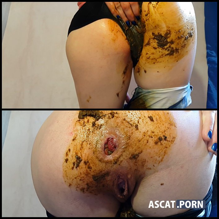 My shitty jeans - Anna Coprofield - scat girls, poop smear, shitty panties, Full HD 1080p (Release Date: 2017)