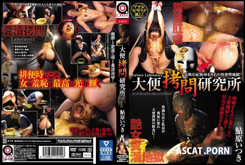 OPUD-251 Shit Torture Lab Itsuki Ayuhara - 大便拷問研究所 鮎原いつき - Humiliation, Big Tits, Scat, Featured Actress, Full HD 1080p (Release Date: Apr. 08, 2017)