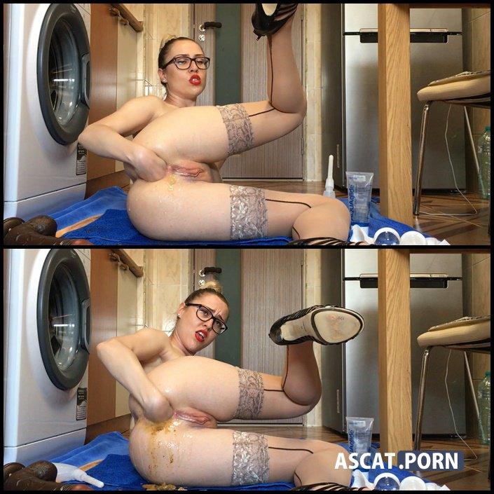Massive ass cleaning - EllaGilbert   Full HD 1080p   June 29, 2017