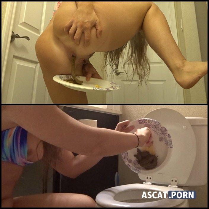 Bikini Pool Girl Locked out of bathroom - Pees & shits - GoddessRyan | Full HD 1080p | Jul 8, 2017