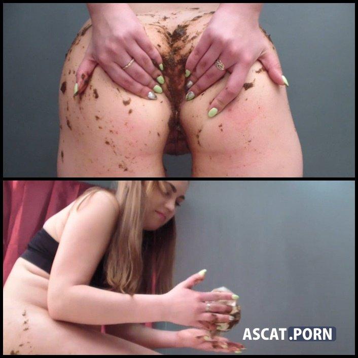 21-year-old Milana dances and pooping close-ups - MilanaSmelly | FULL HD 1080P | Sep 3, 2017