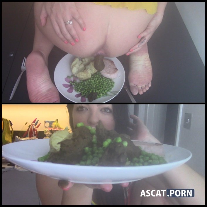 Toilet Slave Dinner Is Prepared - evamarie88 | FULL HD 1080P | October 19, 2017