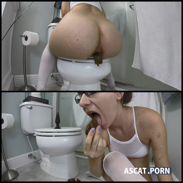 Bubble Butt Backwards Poo Sucking Fun with HotScatWife