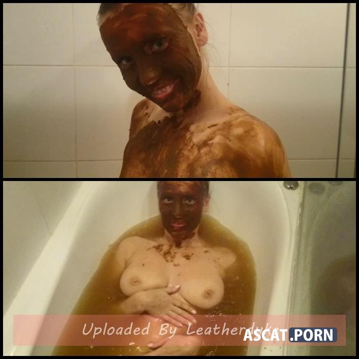 Bathing in shit water. Part 2 with Brown wife | Full HD 1080p | December 12, 2017