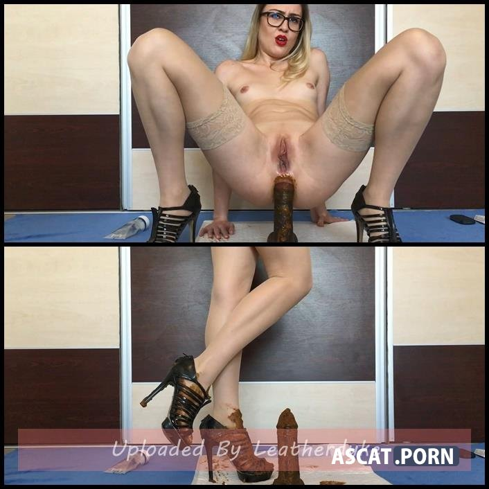 Cum over my full of shit heels with EllaGilbert | Full HD 1080p | December 13, 2017