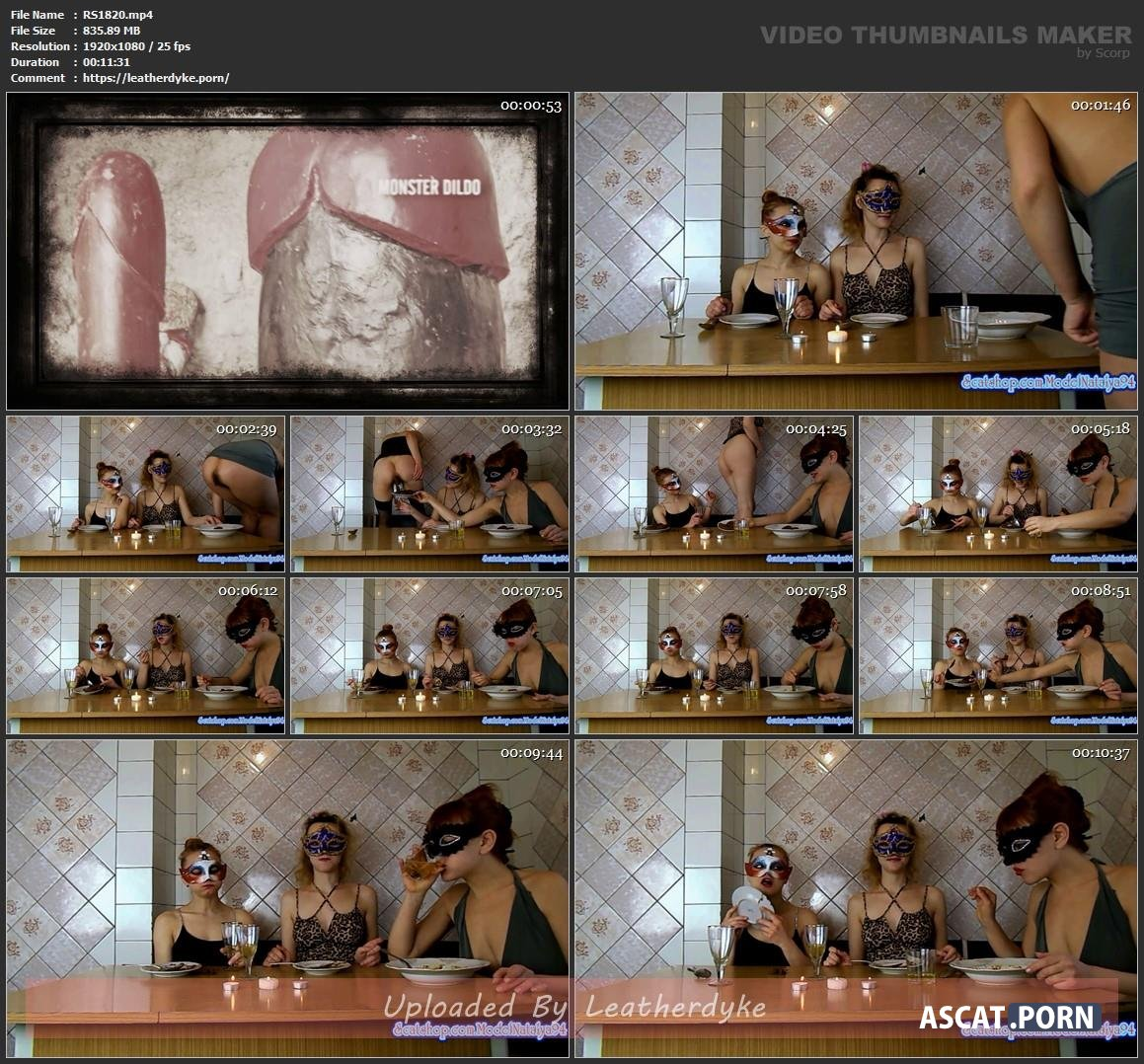 Three girls eating their own shit with ModelNatalya94 | Full HD ...