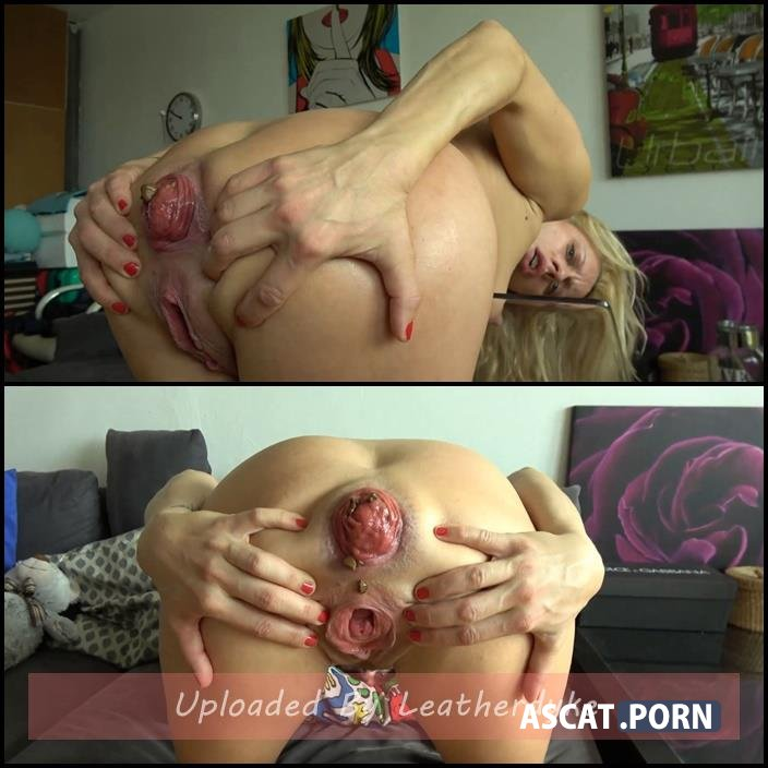 Anal fisting, dildo sex and giant Prolapse with Brittany Bardot | Full HD 1080p | May 25, 2018