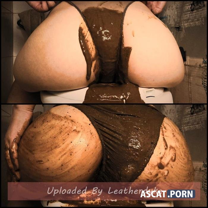AMAZING Stinky Liquid PANTY POOPING with DirtyBetty | Full HD 1080p | Sep 13, 2018
