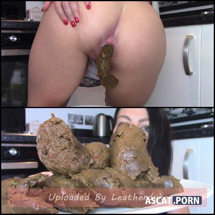 Ginormous Shit Meal For Slave (Biggest Poo To Date) with evamarie88 | Full HD 1080p | Oct 3, 2018