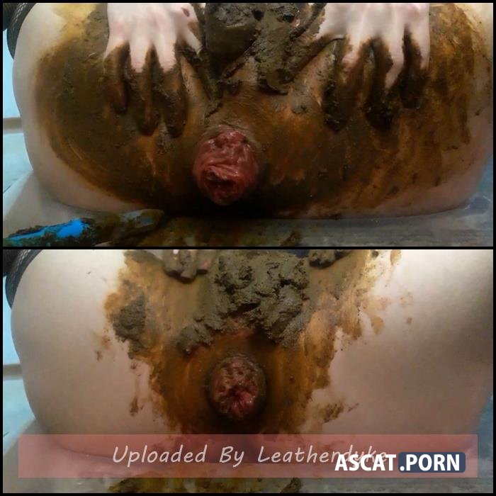 Anal prolapse in shit with ScatLina | Full HD 1080p | Dec 11, 2018