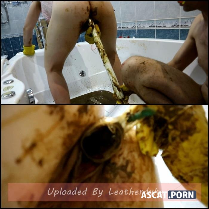 Fecal bath Part 3 with WCwife | Full HD 1080p | Dec 26, 2018