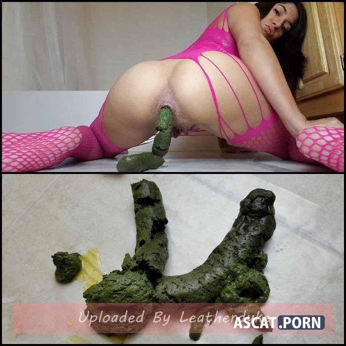 Green Poop Snaking Out of My Ass with littlefuckslut | Full HD 1080p | Jan 14, 2019