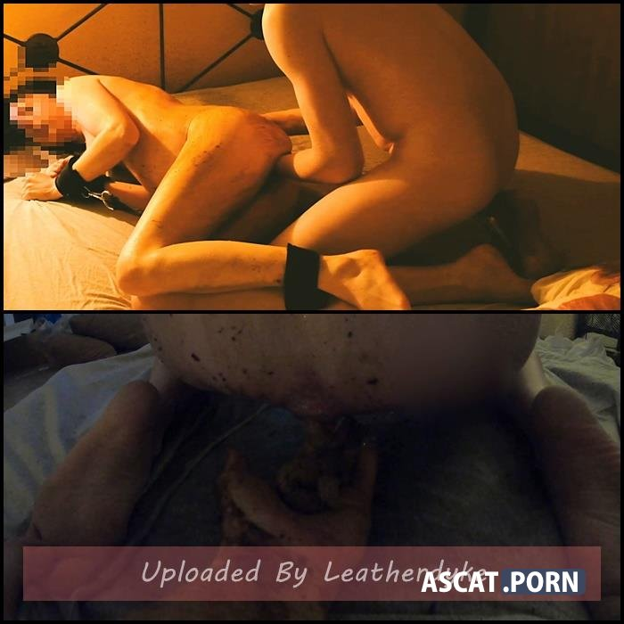 She can't take it – scat and fisting - Friday night – extreme scat smearing, pissing and fucking - Hotelroom crazy scat, pissing and fisting