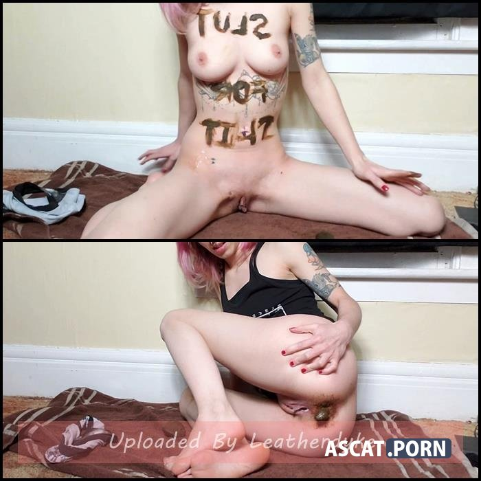 Slut For Shit Smear with xxecstacy