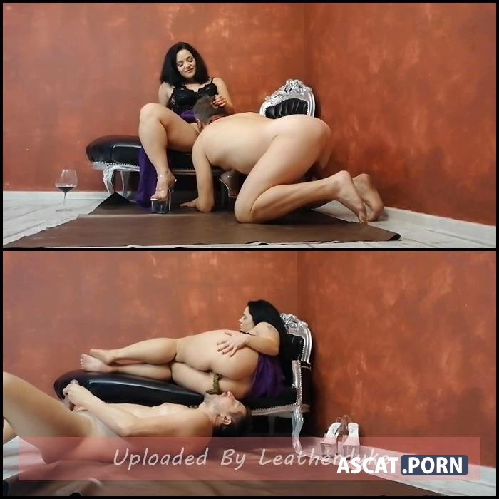 EPIC feeding with Goddess Zaleya with TOILETSLAVE4ALL | Full HD 1080p | Nov 25, 2019