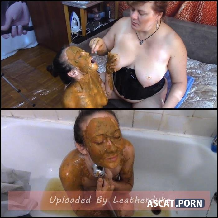 She covered in shit, she my toilet with Mistress | Full HD 1080p | Dec 15, 2020