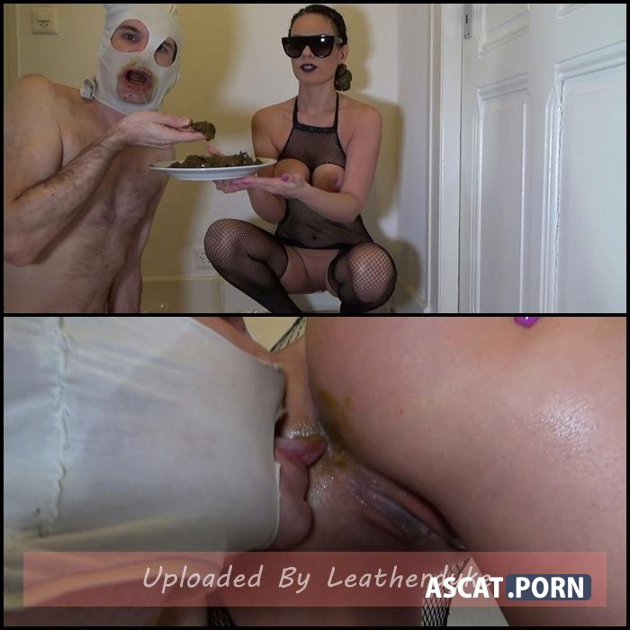Lila Shit on a Plate