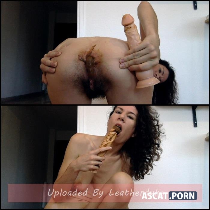 Hairy Nasty Marianne licking her pee - Dildo in dirty ass with nastymarianne | Full HD 1080p | Feb 20, 2021
